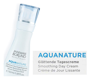 AquaNature Intense hydrating care for mature combination skin
