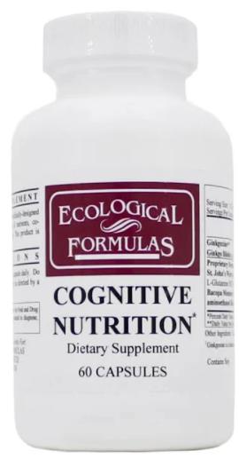 EcologicalFormulasCOGNITIVENUTRITION-60CP